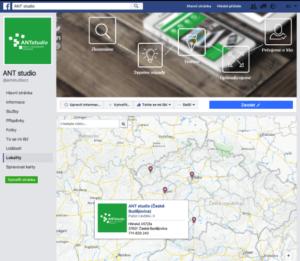 Mapy na Facebooku